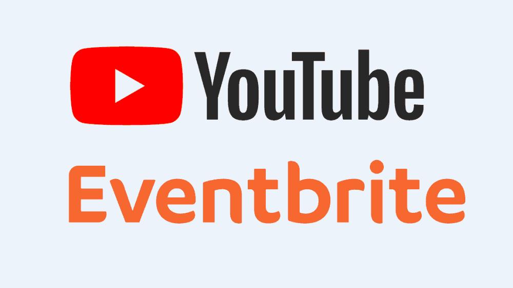 youtube y eventbrite se unen para hacer más fácil la compra de