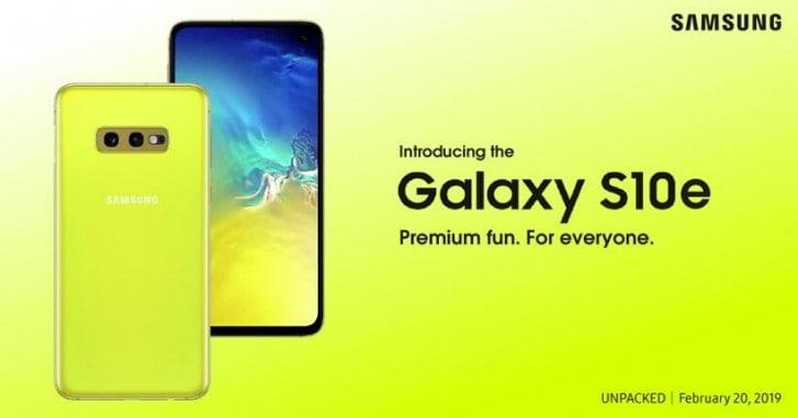 Galaxy S10e: La propuesta asequible y colorida del gigante